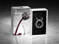 The Wine Clip Magnetic Wine Improvement Conditioner Aeration Enhancement Parties