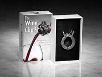 The Wine Clip Magnetic Wine Improvement Conditioner Aeration Enhancement Parties