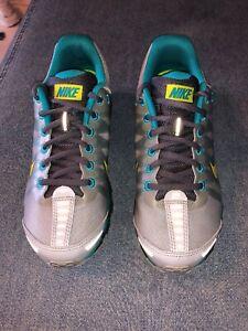 Details about New Nike Air Max 2009 Womens Venom Green Grey US Sz 8