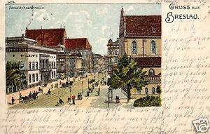 6107-Litho-AK-Gruss-aus-Breslau-Schweidnitzer-Strasse-1905