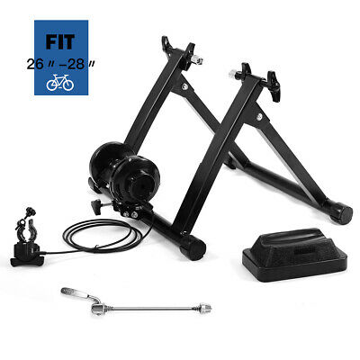Resistance Magnetic Indoor Bicycle Bike Trainer Exercise Stand Wheel Riser Block
