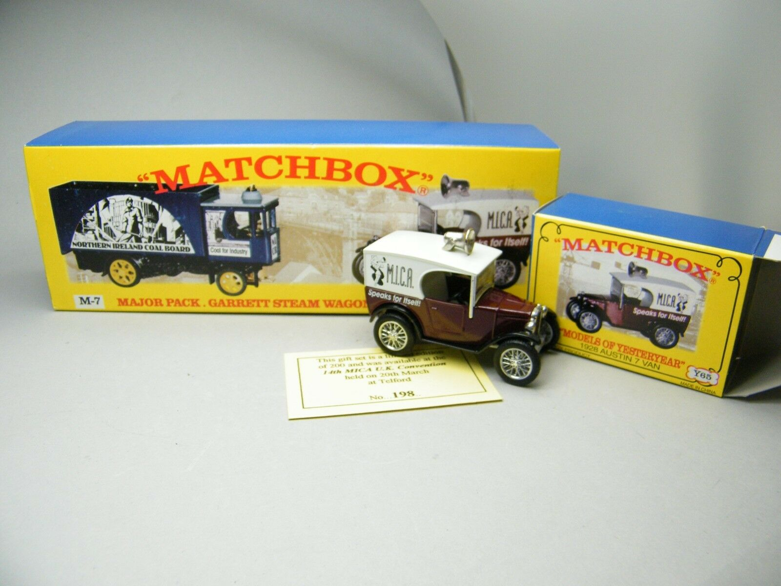 Matchbox MOY c2 y-65 Austin Seven from Mica m-7 Set 1 of 200 VERY RARE BOXED k17