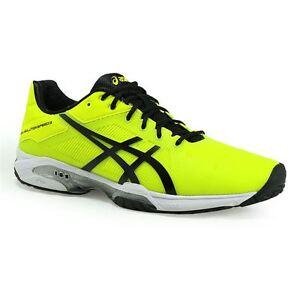 cf8002d49b8a asics  GEL-SOLUTION SPEED 3 Neon Yellow Men s Tennis Shoes US 6.5 ...