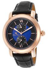 Lucien Piccard Spiga Dual Time Mens Watch 40026-RG-03-BC