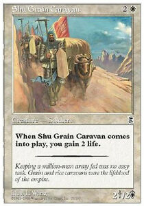 Shu-Grain-Caravan-MTG-Magic-P3K-Portal-Three-Kingdoms-Eng