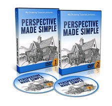 """How To Draw Perspective - """"Perspective Made Simple"""" DVD Course  (Drawing course)"""