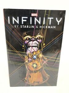 Infinity-Omnibus-by-Starlin-amp-Hickman-THANOS-Marvel-New-Factory-Sealed-125