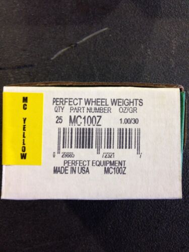MC SERIES TIRE WHEEL WEIGHTS ZINC COATED-MC100Z