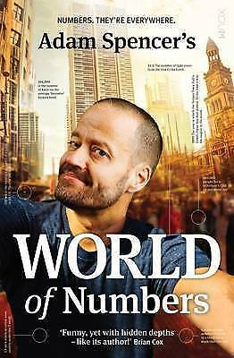 1 of 1 - NEW Adam Spencer's World of Numbers By Adam Spencer Paperback Free Shipping