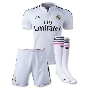 buy online f3d3a 6bf9e Details about ADIDAS REAL MADRID AUTHENTIC HOME ADIZERO KIT 2014/15 LIMITED  EDITION JERSEY.