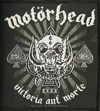 "MOTÖRHEAD AUFNÄHER / PATCH # 42 ""VICTORIA AUT MORTE"""