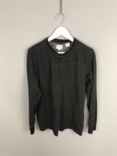 Condition Levi's Uomo Sweatshirt Black Small Great wZcrqHOZIS