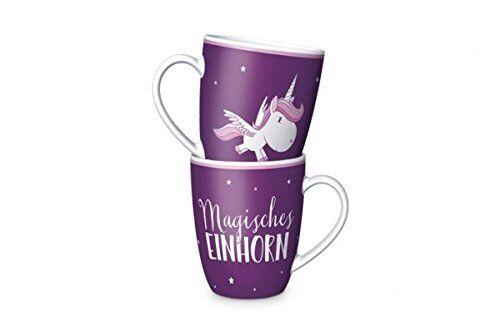 """Neu//OVP Kaffeetasse Kaffeebecher Einhorn /""""Magisches Einhorn/"""""""