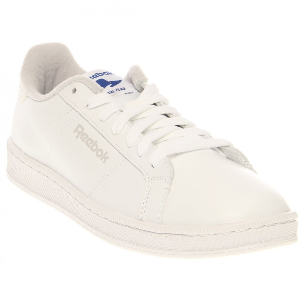 release date adc57 8bbc6 NEW REEBOK ROYAL BELIEF MENS White Leather Classic NIB vintage