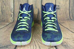 3e86c0db6d894f New Jordan Super.Fly 4 Basketball Shoes Blue Green Infrared 23 ...