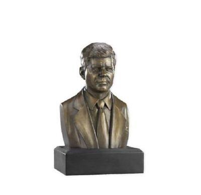 President John F Kennedy Bust Statue Historical Figure Sculpture