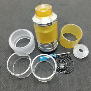 1:1 FATALITY RTA 28MM Limited Edition QP Design  Black Stainless