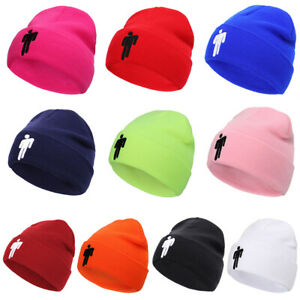 Candy-Color-Billie-Eilish-Beanie-Topic-Knit-Hat-Stretchy-Cap-Women-Men-Knit-Hat