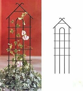 HGmart-Climbing-Pot-Flower-House-Shaped-Garden-Trellis-Plant-Support-Fence