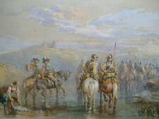 SUPERB - JOHN FREDERICK TAYLER (1802-1869) - ENGLISH CIVIL WAR - MAJOR GALLERIES
