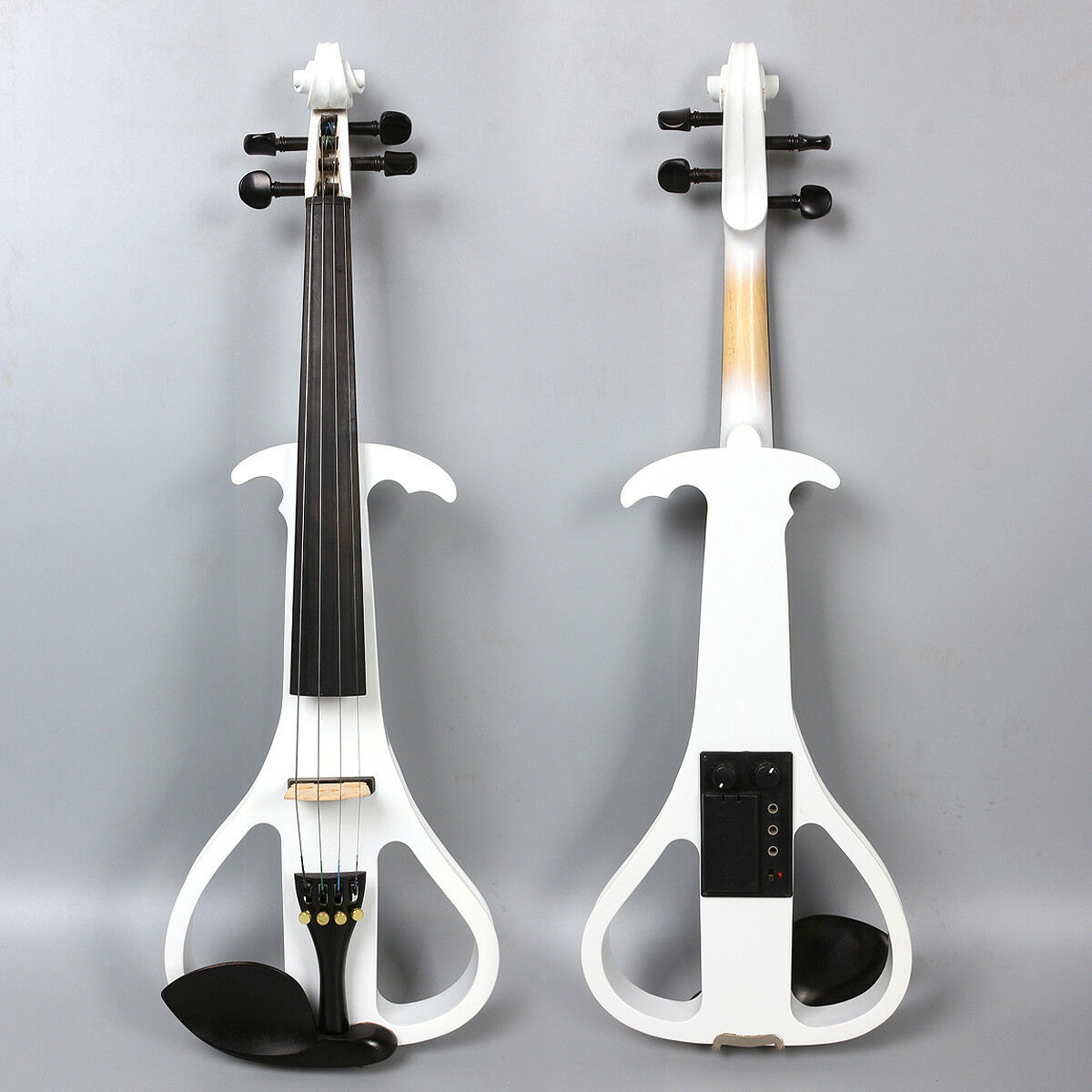 Yinfente Electric Electric Violin 4 4 Handmade Free Case Bow Rosin Cable  EV3