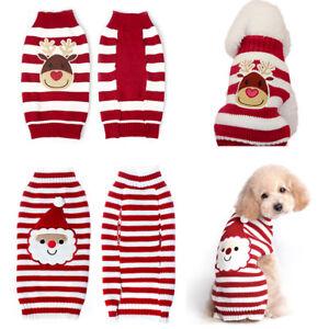 chien-chaud-chandail-Noel-vetements-decorations-tricot-costume-manteau
