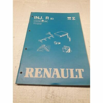 Renault 1988 INJ.R Ren Manuel de reparation Injection Electronique Type R
