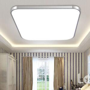 Techo-LED-Lampara-luz-hacia-abajo-24W-Cuadrado-Ahorro-De-Energia-Para-Dormitorio-Sala-De-Estar