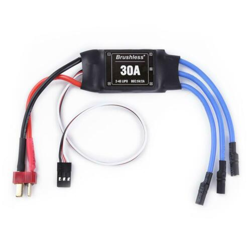 XXD 30A ESC Brushless Motor Speed Controller for RC Airplane Helicopter 3 UK