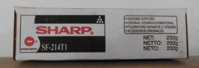Sharp SF-214T1 Toner black für SF 1414 2014 2114 2214 2012 1430 Karton C1