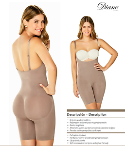 6348ff3b3af19 Image is loading Fajas-Reductoras-Colombiana-Body-Shaper-Seamless-Media- Short-