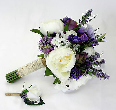 DEPOSIT for Wedding Bouquet Package - 1 Bridal, 3 Bridesmaids