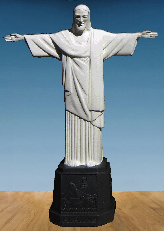 Statue von Christus dem Erlöser im Harz Rio de Janeiro Brazil Jesus