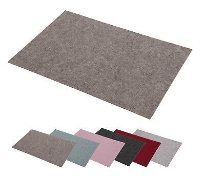 Platzsets aus Filz (Farbe wählbar) 2 Stück Set, eckig 30x45 cm Tischset | eBay