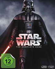 Krieg der Sterne STAR WARS 1 2 3 4 5 6 COMPLETE SAGA 9 BLU-RAY Collection BOX