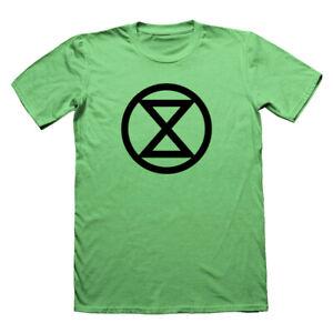 Extinction-rebellion-T-Shirt-Protestation-T-shirt-noir-Anonyme-tshirt-Vegan