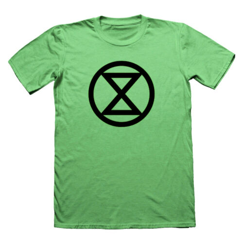 tshirt VEGAN Protest t-shirt EXTINCTION REBELLION T SHIRT anonymous black