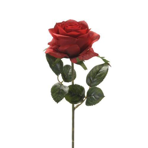 45cm CREAFLOR HOME Kunstblumen Emerald 24er Set künstliche Rosen SIMONE rot H