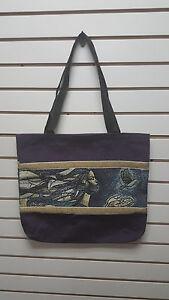 b9fef7aef Image is loading Keith-Mallett-Tapestry-Tote-bag-Exodus-Black-Americana-