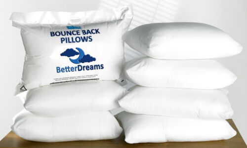Pillows Hollow Fibre 2,4,6,8 /& 10 PACKS Deluxe Super Bounce Back Pillows BNWT