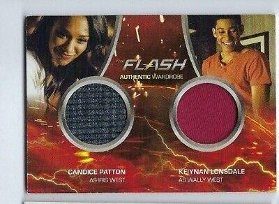 The Flash Season 2 Dual Wardrobe Card DM4 Iris West /& Wally West