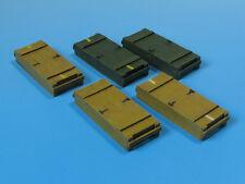 AMMO BOXES TO 8,8cm KwK36/FlaK 18/36 (PZKPFW VI TIGER I)#E05 1/35 EUREKA