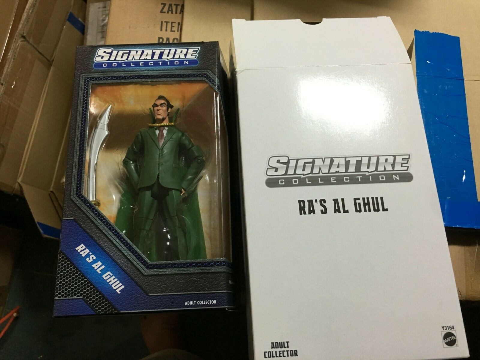 MATTEL DC UNIVERSE SIGNATURE COLLECTION RA'S AL GHUL UNOPENED