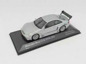 MINICHAMPS-1-43-Mercedes-CLK-Coupe-DTM-2002-Silver-Exclusive-Kyosho-403023200