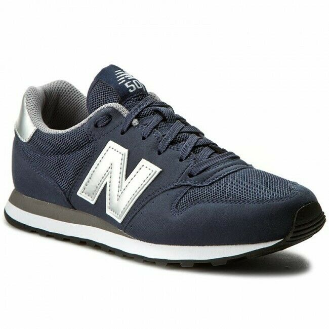 New Balance Mens 500 Trainers Navy.Various size