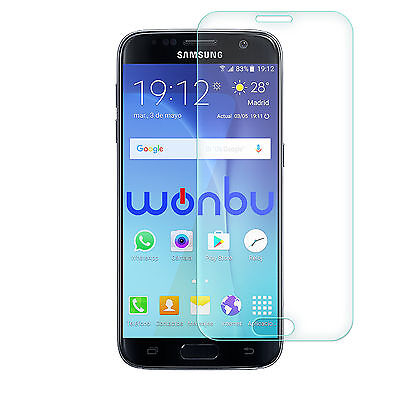 Tempered Glass Film Screen Protector For Samsung Galaxy S7 Frontal Completo