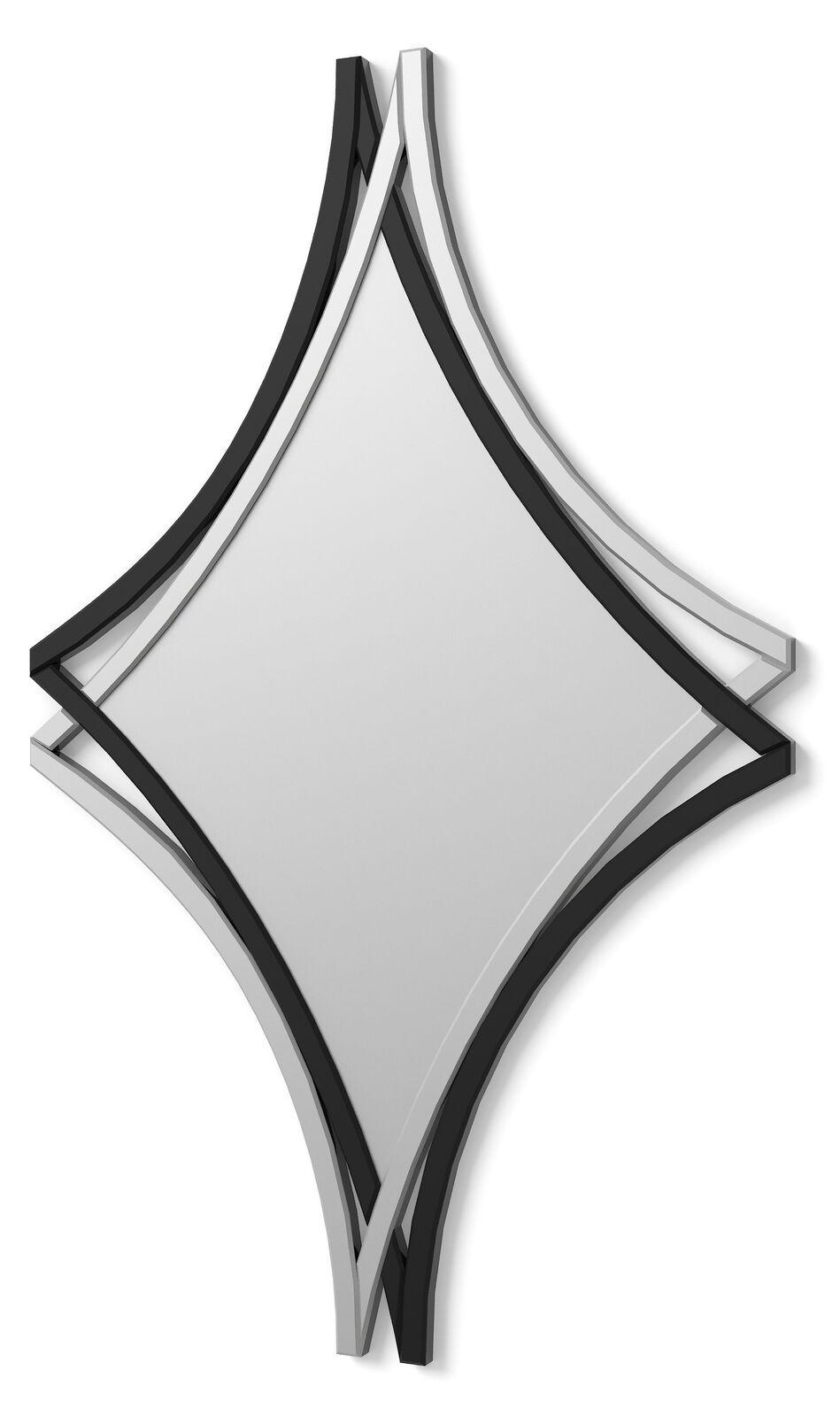 E017   MIROIR  MODERNE HEXAGONAL 110X70 cm
