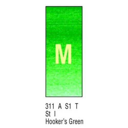 2,75€//1Stk Winsor Newton AWC H//PAN HOOKER/'S GREEN 311 Aquarellfarbe