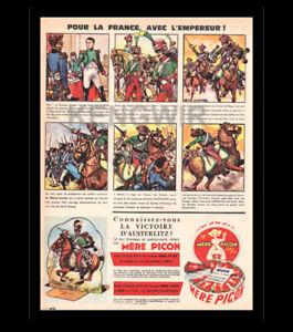 PUBLICITE-PUB-ADVERTISING-Fromage-MERE-PICON-le-jeu-Vintage-annee-1964