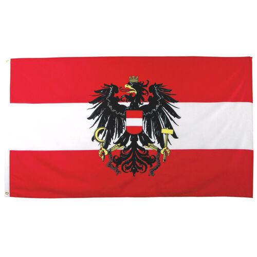 MFH Flagge Festival Große Dekoration Land National 90x150cm Vereinigt Österreich